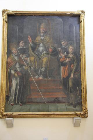 12-cercemaggiore-santuario s maria della libera olio su tela s pio v s raimondo di penafort s ludovico s biagio s vito_hid