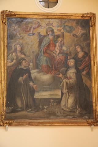 9-cercemaggiore-santuario s maria della libera olio su tela madonna dellarco con s maria maddalena s caterina s giacinto s rosa_hid